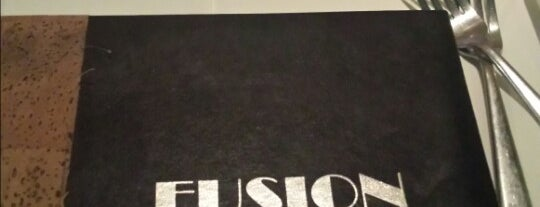 Fusion is one of places to dine.