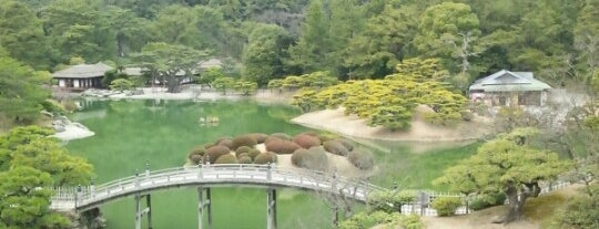 Ritsurin Garden is one of 日本の都市公園100選.
