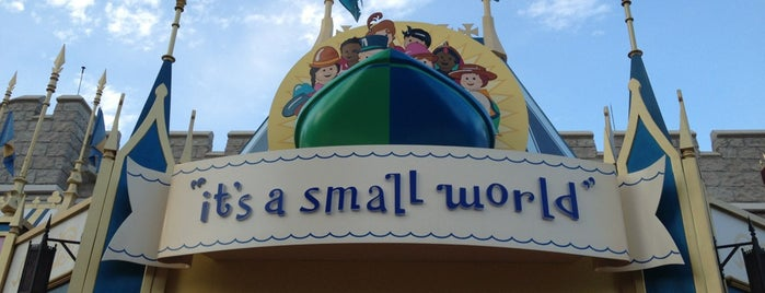 it's a small world is one of Dan's Places.