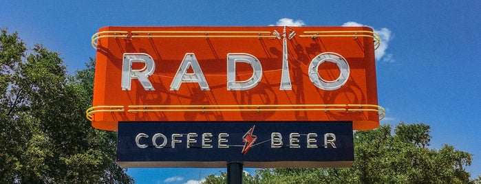 Radio Coffee & Beer is one of The 15 Best Coffee Shops in Austin.