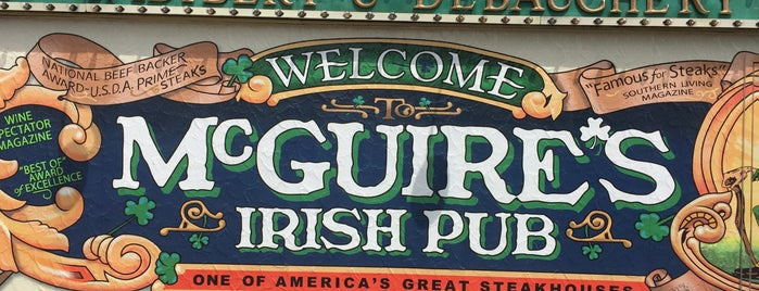McGuire's Irish Pub is one of The Best of the North Florida Gulf Coast.