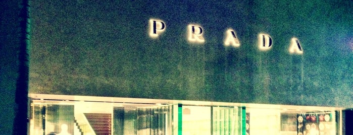 Prada is one of Layover: LAX/KLAX.