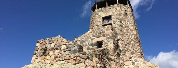 Harney Peak Summit (7,242 ft) is one of Rapid City, SD.