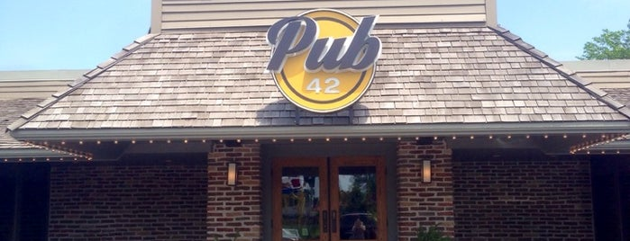 Pub 42 is one of Dining spots.