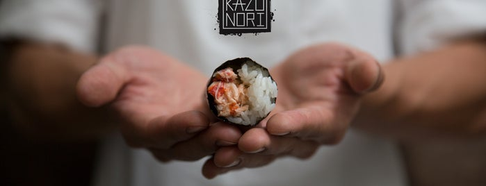 KazuNori Hand Roll Bar is one of LA: Central, East, Valleys.