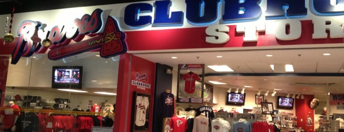 Braves Clubhouse Store is one of #416by416 - Dwayne list1.