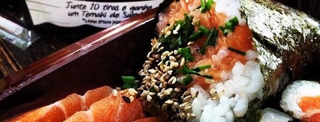 Temakeria Japesca is one of Top picks for Sushi in Porto Alegre.
