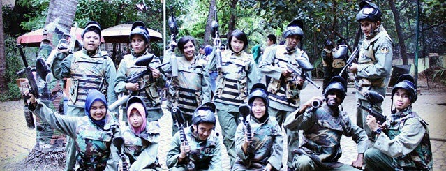 Green Mission Paintball is one of SHASYA ACTIVITY.