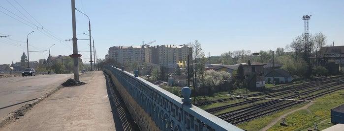 Залізничний міст is one of Мости України.