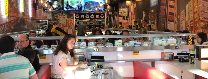 Sushi+ Rotary Sushi Bar is one of To-do eat.