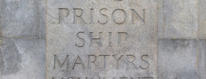 Prison Ship Martyrs Monument is one of NYC Monuments & Parks.