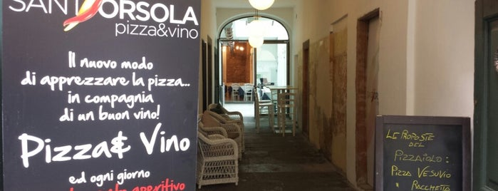 Sant'Orsola Pizza&Vino is one of Bergamo.