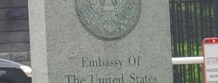Embassy of the United States is one of Ong's List.