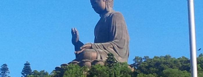 Tian Tan Buddha (Giant Buddha) is one of Hongkong.