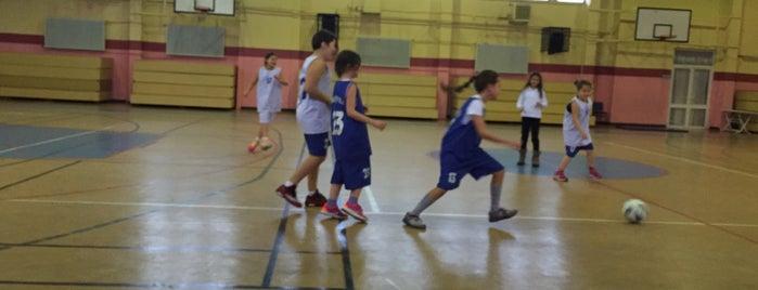 Özel Çağdaş İlköğretim Okulu Spor Salonu is one of Goodnes places .