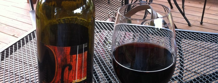 Allegro Vineyards is one of Make your own wine trail.