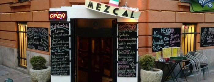 Mezcal Mexikói Étterem is one of finomságok jó helyeken.