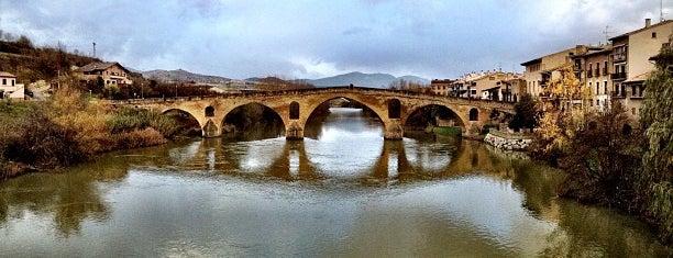 Puente de la Reina is one of Camino de Santiago.