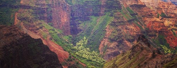 Waimea Canyon Lookout is one of Kaua'i, HI.