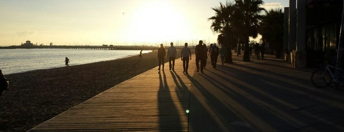 St Kilda Beach is one of Travel Guide to Melbourne.