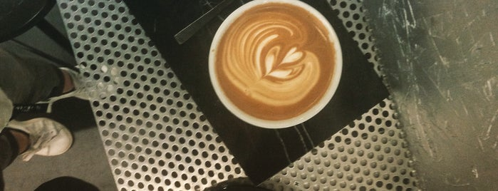 Voyager Espresso is one of The 15 Best Coffee Shops in New York City.