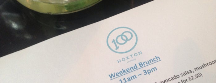 100 Hoxton is one of Dinner.