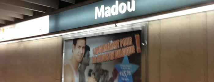 Madou (MIVB / STIB | De Lijn) is one of MIVB/STIB.