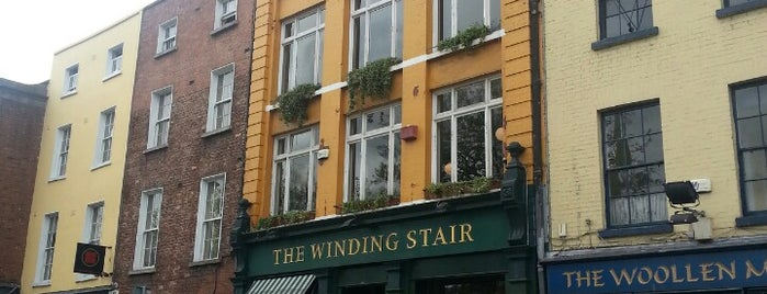 The Winding Stair is one of Dublin Dining.