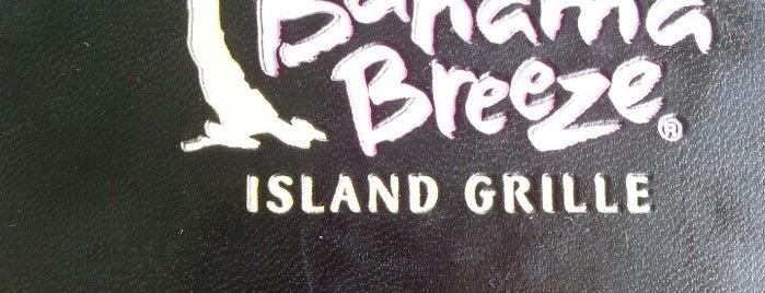 Bahama Breeze is one of Top 10 restaurants when money is no object.