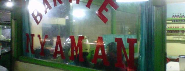 Bakmie NYAMAN Psr.Bandar (P. No) is one of Kuliner di Kediri.
