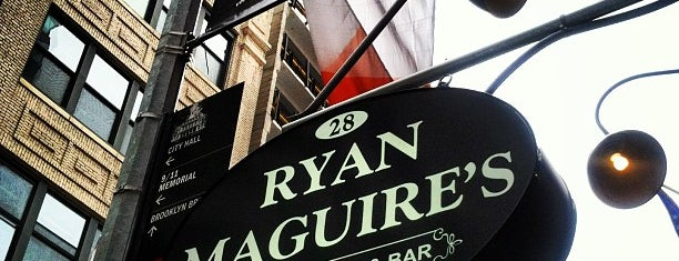 Ryan Maguire's Ale House is one of Down down down town.