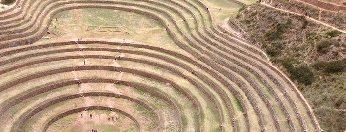 Conjunto Arqueológico de Moray is one of Perú.