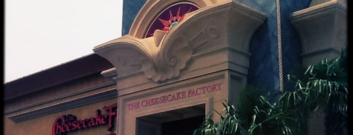 The Cheesecake Factory is one of Places to go, People to Kill..