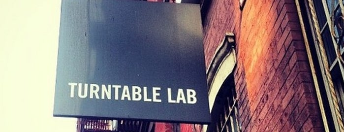 Turntable Lab is one of TO DO LIST ✔.
