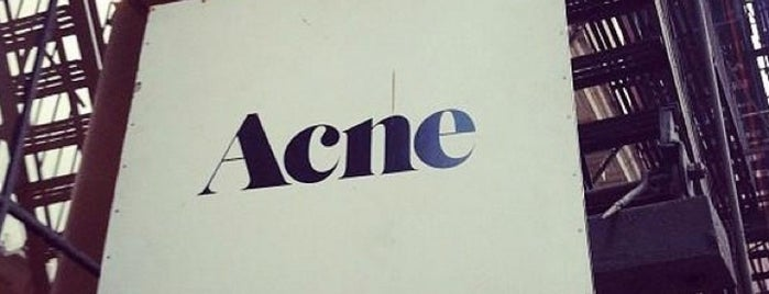 Acne Studios is one of NYC SHOPS.