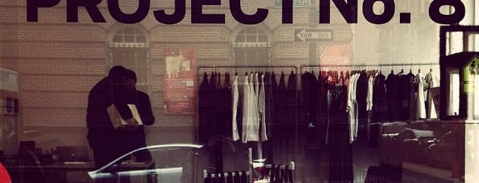 Project No. 8 is one of NYC - Stores.