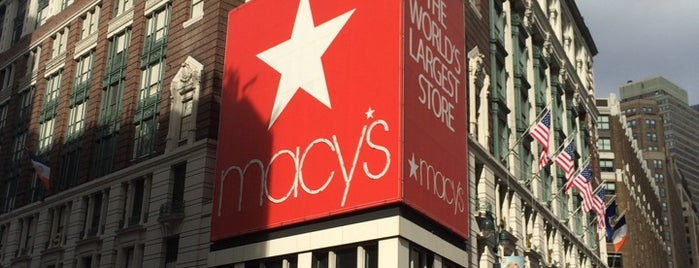Macy's is one of Architecture - Great architectural experiences NYC.