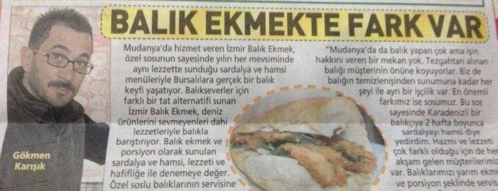 İzmir Balık Ekmek is one of Gidilecekler.