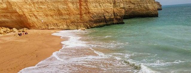 Praia de Benagil is one of Algarve.