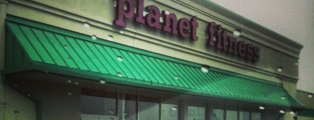 Planet Fitness is one of my fave.