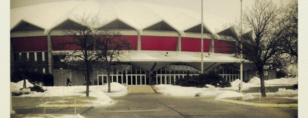Alliant Energy Center is one of My Favorite Places Around The Town.
