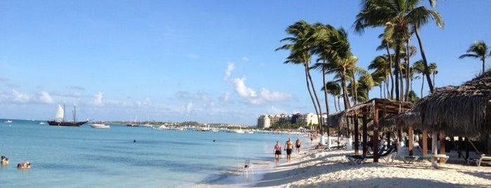 Palm Beach is one of Aruba.