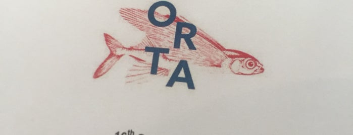 Orta is one of Restaurantes.
