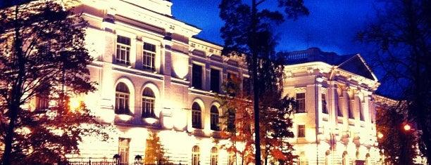 Peter the Great St. Petersburg Polytechnic University is one of Места для онлайн трансляций.