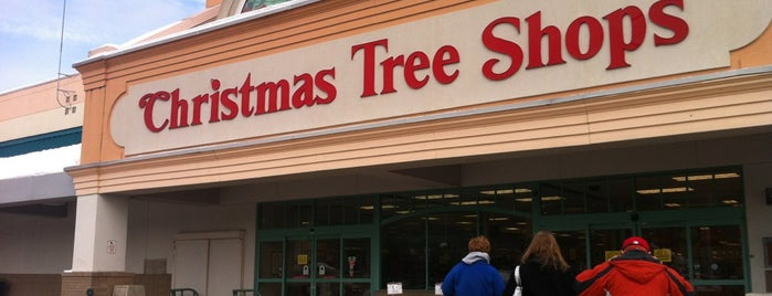 Christmas Tree Shops is one of just a list of places.