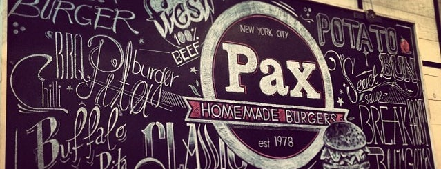 Pax Homemade Burgers is one of φαγητο.