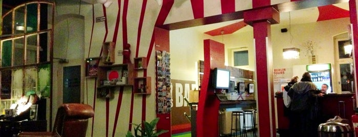 The Circus Hostel is one of Europe's Famous Hostels .com.