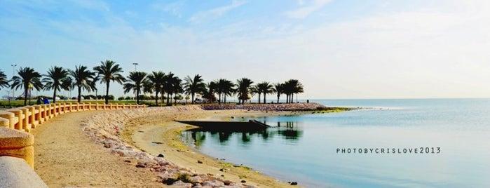 Khobar Corniche is one of Visiting east ?.