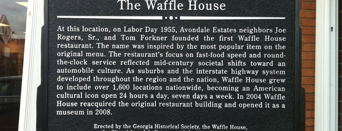 Waffle House Museum is one of Places to try: fun.