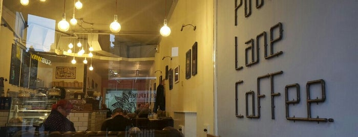Pink Lane Coffee is one of Newcastle Upon Tyne.